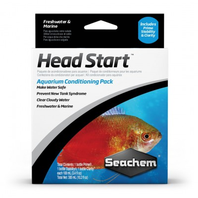 Seachem Head Start Pack 3x100ml